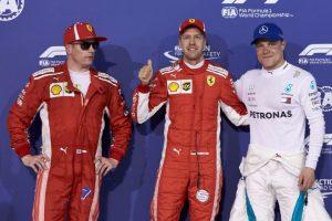 Formel 1 - Mercedes-AMG Petronas Motorsport, Großer Preis von Bahrain 2018. Valtteri Bottas  © Mercedes AMG Petronas Motorsport