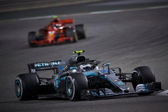 Formel 1 - Mercedes-AMG Petronas Motorsport, Großer Preis von Bahrain 2018 Valtterie Bottas © Mercedes-AMG Petronas Motorsport