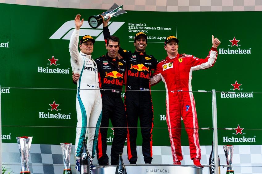 Formel 1 Heute Siegerehrung