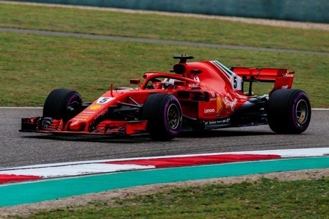 Formel 1 GP von China 2018 Sebastian Vettel. © Ferrari F1