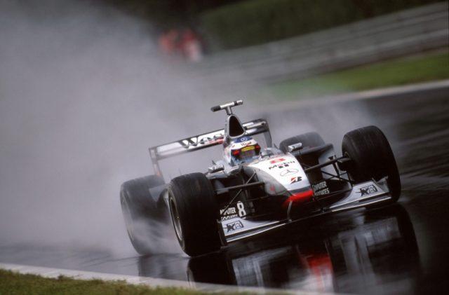 Der spätere Weltmeister 1998, Mika Häkkinen, beim Grand Prix von Italien im McLaren-Mercedes MP4-13 © Mercedes Motorsport