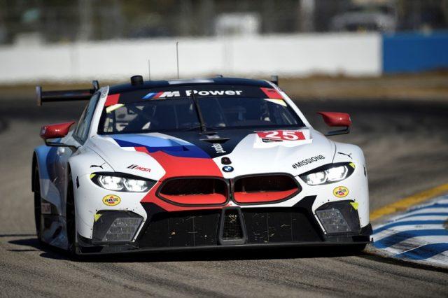 IMSA Alexander Sims (GBR), Connor de Phillippi (USA), Bill Auberlen (USA), No 25, BMW Team RLL, BMW M8 GTE. © BMW Motorsport
