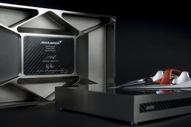 McLaren Speed Form BP23 für zuküntige Besitzer eines McLaren Hyper GT ©: McLaren