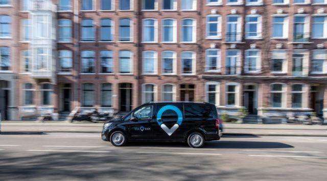 ViaVan startet App-basierten On-Demand Ridesharing-Dienst in Amsterdam © Daimler