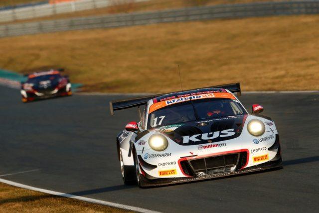 Porsche 911 GT3 R, KÜS Team75 Bernhard, Timo Bernhard (D), Kévin Estre (F), Oschersleben 2018 © Porsche Motorsport