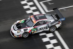 Porsche 911 GT3 R, KÜS Team75 Bernhard, Timo Bernhard (D), Kévin Estre (F), Oschersleben 2018 © Porsche