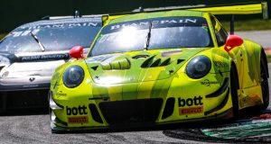Porsche 911 GT3 R Manthey-Racing, Romain Dumas (F), Frédéric Makowiecki (F), Dirk Werner (D), Monza 2018 © Porsche