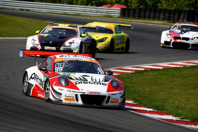 Most: ADAC GT Masters Porsche 911 GT3 R, Precote Herberth Motorsport, Mathieu Jaminet (F), Robert Renauer (D) © Porsche