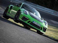 Porsche 911 GT3 RS auf dem Nürburgring-Nordschleife © Porsche