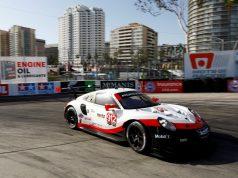 Porsche 911 RSR (912), Porsche GT Team: Earl Bamber, Laurens Vanthoor © Porsche Motorsport