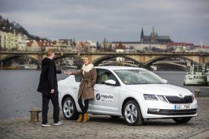 SKODA AUTO DigiLab erweitert eigene Carsharing-Plattform HoppyGo mit Joint Venture © Skoda