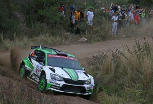 Skoda bei der Rallye Argentinien 2018 © Skoda Motorsport