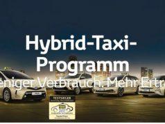 Toyota Hybrid Taxi Programm © Toyota