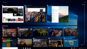 Windows 10 April 2018 Update Timeline © Microsoft
