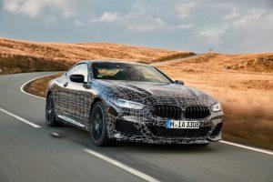 Erprobung des neuen BMW 8er Coupe © BMW AG