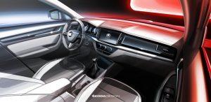Neuer SKODA für China – erste Skizzen des Mainstream-City-SUV: SKODA lässt spezifische Wünsche und Vorlieben chinesischer Kunden in Ausstattung, Konzept und Gestaltung neu entwickelter Modelle einfließen. © Skoda