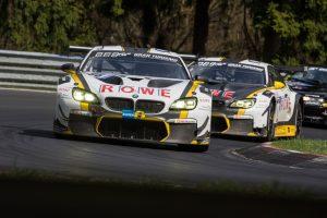 24 Stunden Nürburgring BMW M6 GT3, ROWE Racing, Nick Catsburg, Martin Tomczyk © BMW Motorsport