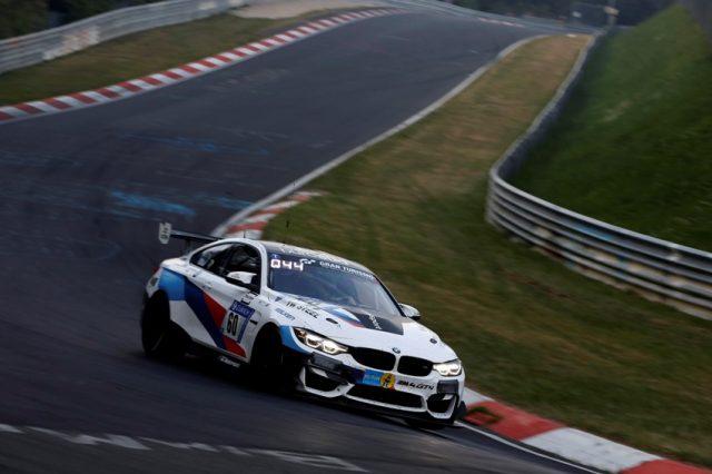 24h Nürburgring, #60 Securtal Sorg Rennsport (GER), BMW M4 GT4 Dirk Adorf (GER), Tom Coronel (NED), Nico Menzel (GER), Beitske Visser (NED) © BMW Motorsport