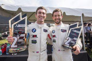 Alexander Sims (GBR), Connor de Phillippi (USA), No 25, BMW Team RLL, BMW M8 GTE © BMW Motorsport