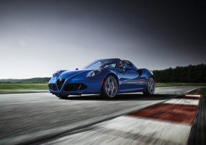 Alfa Romeo 4C Spider Italia kombiniert Sportlichkeit mit Eleganz. © Alfa Romeo