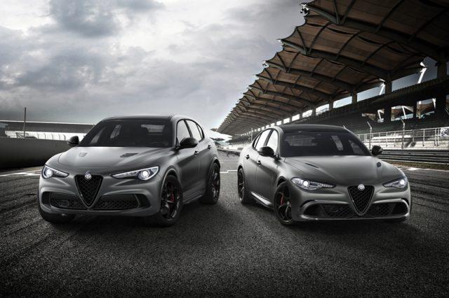 Alfa Romeo Stelvio Quadrifoglio Nürburgring Edition und Giulia Quadrifoglio Nürburgring Edition © Alfa Romeo