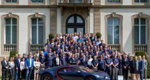 Bugatti 100.Bugatti Chiron Produktion des Bugatti Chiron läuft auf Hochtouren © Bugatti
