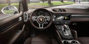 Porsche Cayenne E-Hybrid Cockpit © Porsche