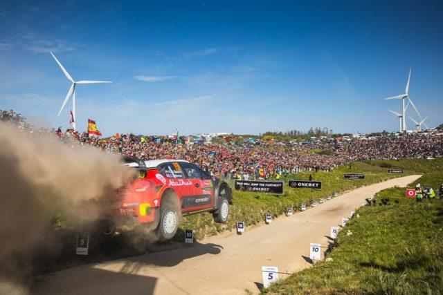 Citroen WRC Rallye Portugal 2018 © Citroen Motorsport