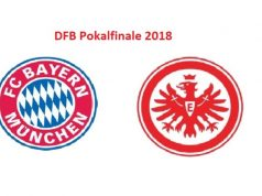DFB Pokal Finale 2018 Bayern München - Eintracht Frankfurt