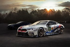 Das neue BMW 8er Coupé und der BMW M8 GTE © BMW AG
