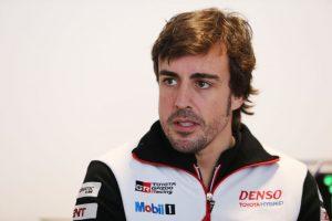 Fernado Alonso © Toyota Gazoo Racing