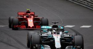 Formel 1 -Formel 1 GP Monaco 2018 Lewis Hamilton © Mercedes-AMG Petronas Motorsport