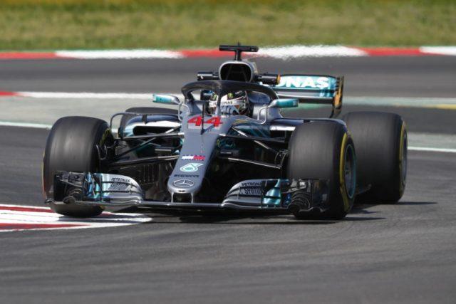Formel 1 - Mercedes-AMG Petronas Motorsport, Großer Preis von Spanien 2018. Lewis Hamilton © Mercedes AMG Petronas Motorsport