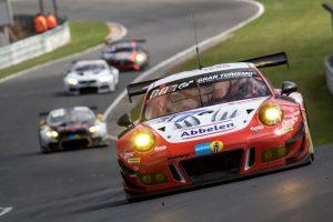 Frikadelli Racing Team, Porsche 911 GT3 R (31), Nürburgring 2018. © Porsche Motorsport