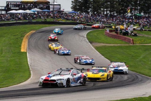 IMSA BMW M8 GTE fährt auf Platz zwei in Mid Ohio beim 4.Lauf der IMSA © BMW Motorsport