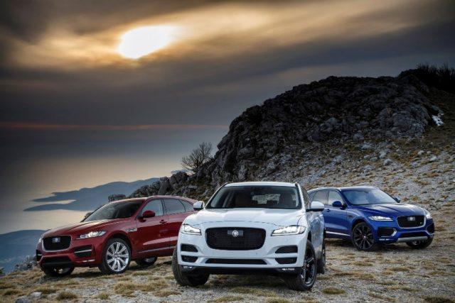 Jaguar F Pace Modelljahr 2019 © Jaguar