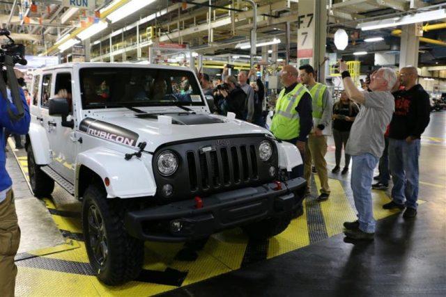 Mehr als 2,1 Millionen Wrangler (JK) rollten seit dem Produktionsstart 2006 vom Band © FCA/Jeep