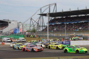 Manthey-Racing, Porsche 911 GT3 R (912), Richard Lietz (A), Patrick Pilet (F), Frederic Makowiecki (F), Nick Tandy (GB), Nürburgring 2018 © Porsche Motorsport