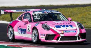 Porsche 911 GT3 Cup, Thomas Preining (A), Porsche Mobil 1 Supercup, Barcelona 2018 © Porsche Motorsport