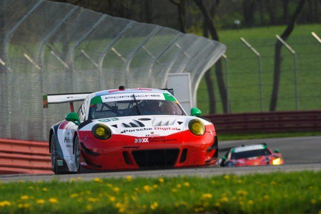 Porsche 911 GT3 R (58), Wright Motorsports Patrick Long, Christina Nielsen © Porsche Motorsport