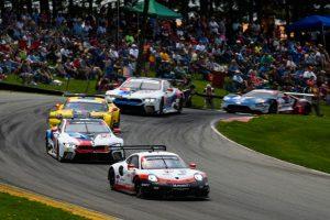 IMSA Mid Ohio Porsche 911 RSR (912), Porsche GT Team Earl Bamber, Laurens Vanthoor © Porsche Motorsport