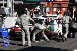 FIA WEC 6 Stunden von  Spa  Porsche 911 RSR, Porsche GT Team (91), Gianmaria Bruni (I), Richard Lietz (A), Spa 2018 © Porsche Motorsport