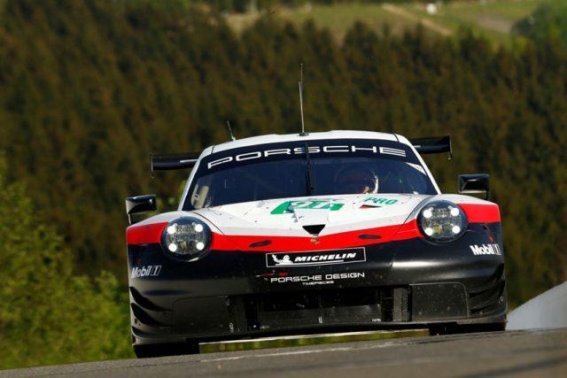 FIA WEC 6 Stunden von Spa Porsche 911 RSR, Porsche GT Team (91), Gianmaria Bruni (I), Richard Lietz (A), Spa-Francorchamps 2018 © Porsche Motorsport