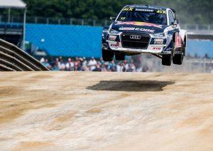 Rallycross-WM 2018, Silverstone Andreas Bakkerud- Audi S1 EKS RX quattro #13 (EKS Audi Sport), Andreas Bakkerud © Malte Christians