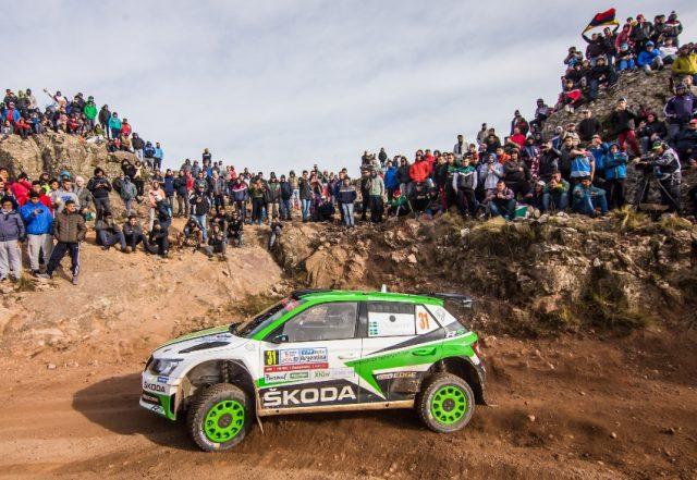Skoda bei der Rallye Portugal 2018 © Skoda Motorsport