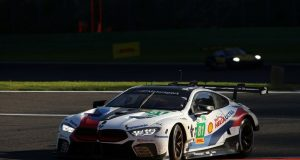 FIA WEC 6 Hours of Spa- Francorchamps, Martin Tomczyk (GER) and Nick Catsburg (NED), BMW M8 GTE No. 81. © BMW Motorsport