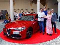 Alfa Romeo Giulia Auszeichnung Compasso d'Oro © Alfa Romeo