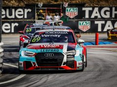 WTCR Audi RS 3 LMS #69 (Audi Sport Leopard Lukoil Team), Jean-Karl Vernay © fiawtcr.com/DPPI