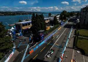 Formula E, Zurich E-Prix 2018 Audi e-tron FE04 #66 (Audi Sport ABT Schaeffler), Daniel Abt Zürich © Audi Communications Motorsport / Michael Kunkel