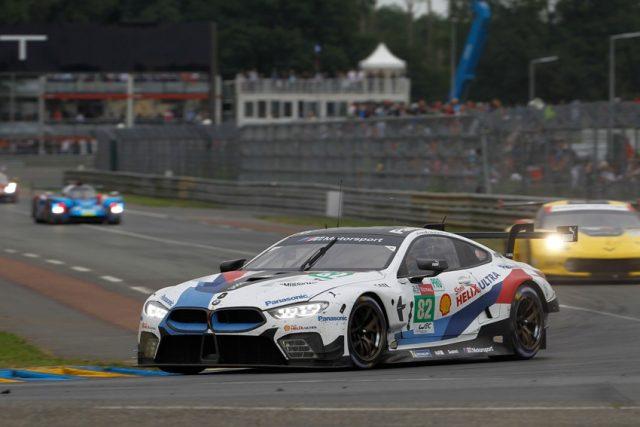 BMW M Motorsport, FIA World Endurance Championship (WEC), 24 Stunden von Le Mans, #82 BMW M8 GTE, António Félix da Costa (POR), Alexander Sims (GRB), Augusto Farfus (BRA) © BMW Motorsport